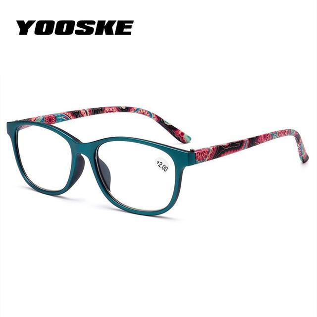 6148b3d192f YOOSKE Ultra light Reading Glasses Women Men Anti Fatigue Hyperopia Prescription  Eyeglasses +1.0 1.5 2.0
