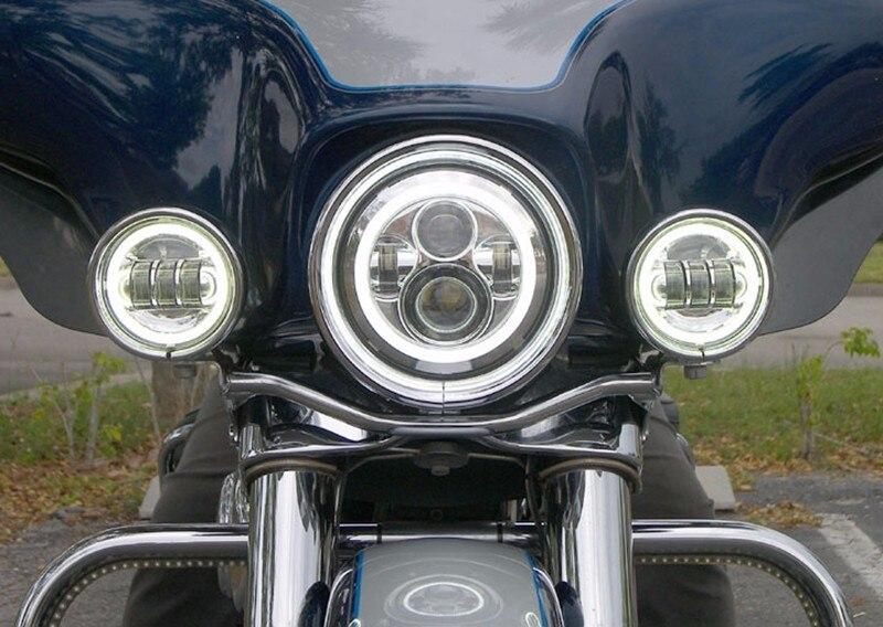 FADUIES 7 düymlük motosiklet LED proyektor H4 faralar Motosiklet - Motosiklet aksesuarları və ehtiyat hissələri - Fotoqrafiya 6