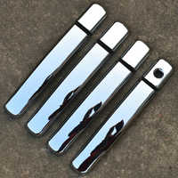 For Nissan Qashqai 2007 2008 2009 2010 2011 2012 2013 First Generation Car Styling ABS Chrome Door Handle Cover Trims Decoration