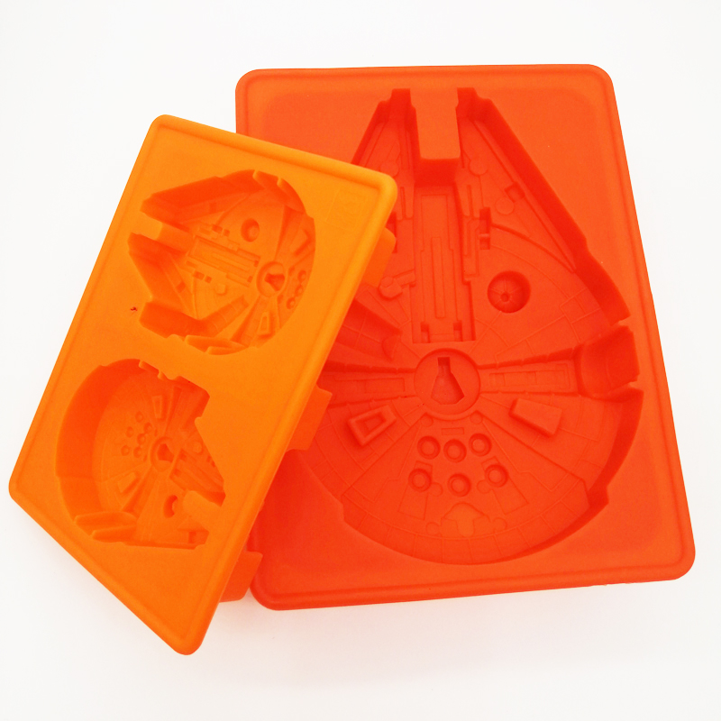 Star Wars Han Solo Moule Silicone Ice Cube Tray Cookie Gâteau whisky Moule Gâteau