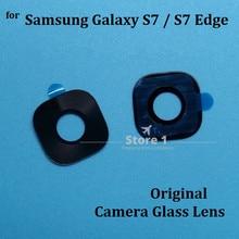 2pcs/Lot Original Camera Glass Lens for Samsung Galaxy S7 /