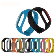 For xiaomi Mi Band 2 Silicone Wrist Strap Miband 2 Belt Bracelet Replacement Wristband Band
