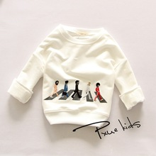 цена на New 2016 brand Children Sweatshirt baby Boy girls Spring Autumn Coat Kids Long Sleeve T-Shirts Casual Outwear Baby Clothing