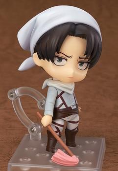 Figura de Levi Ackerman estilo Chibi de Shingeki no Kyojin (10cm) Figuras Shingeki No Kyojin