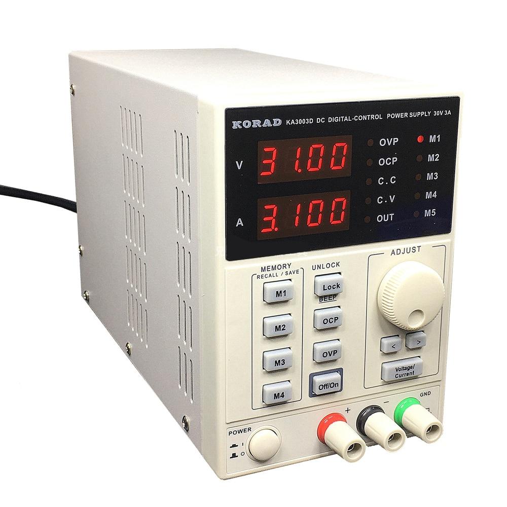 30V 3A KA3003D 220V Precision Variable Adjustable DC Power Supply Digital Regulated for Lab R&D Production Modle Phone Repair30V 3A KA3003D 220V Precision Variable Adjustable DC Power Supply Digital Regulated for Lab R&D Production Modle Phone Repair
