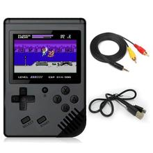children mini boy video handheld game 168 in 1 players console 8 bit retro video game console 8bit for Child Nostalgic Player zeldaed game collecton 8 in 1 save file 16 bit gray game card for usa ntsc game player