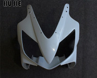 Unpainted Upper Front Fairing Nose Cowl For Honda CBR600 F4i 2004 2007 05 06 Injection Mold ABS Plastic Motorcycle Accessories