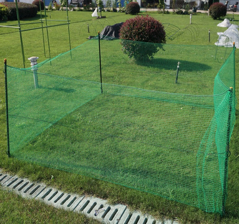 Poultry Animal Plastic Woven Fence Netting For Chicken
