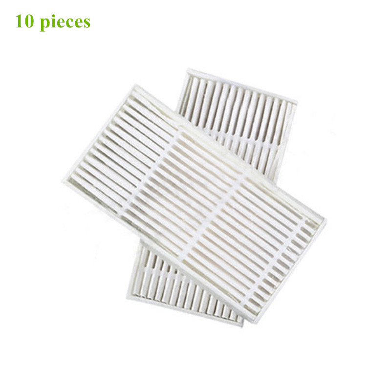 10 pieces Robot Vacuum Cleaner Parts HEPA filters filter for kitfort Kt-518 kt518 kt 518 Robotic Vacuum Cleaner Accessories 2pcs robotic vacuum cleaner robotic parts pack hepa filter for xiaomi mi robot filters cleaner accessories