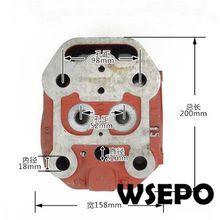 OEM КАЧЕСТВО! Головка блока цилиндров Comp для ZS1100 4 такта маленький дизельный двигатель с водяным охлаждением Сделано в Китае