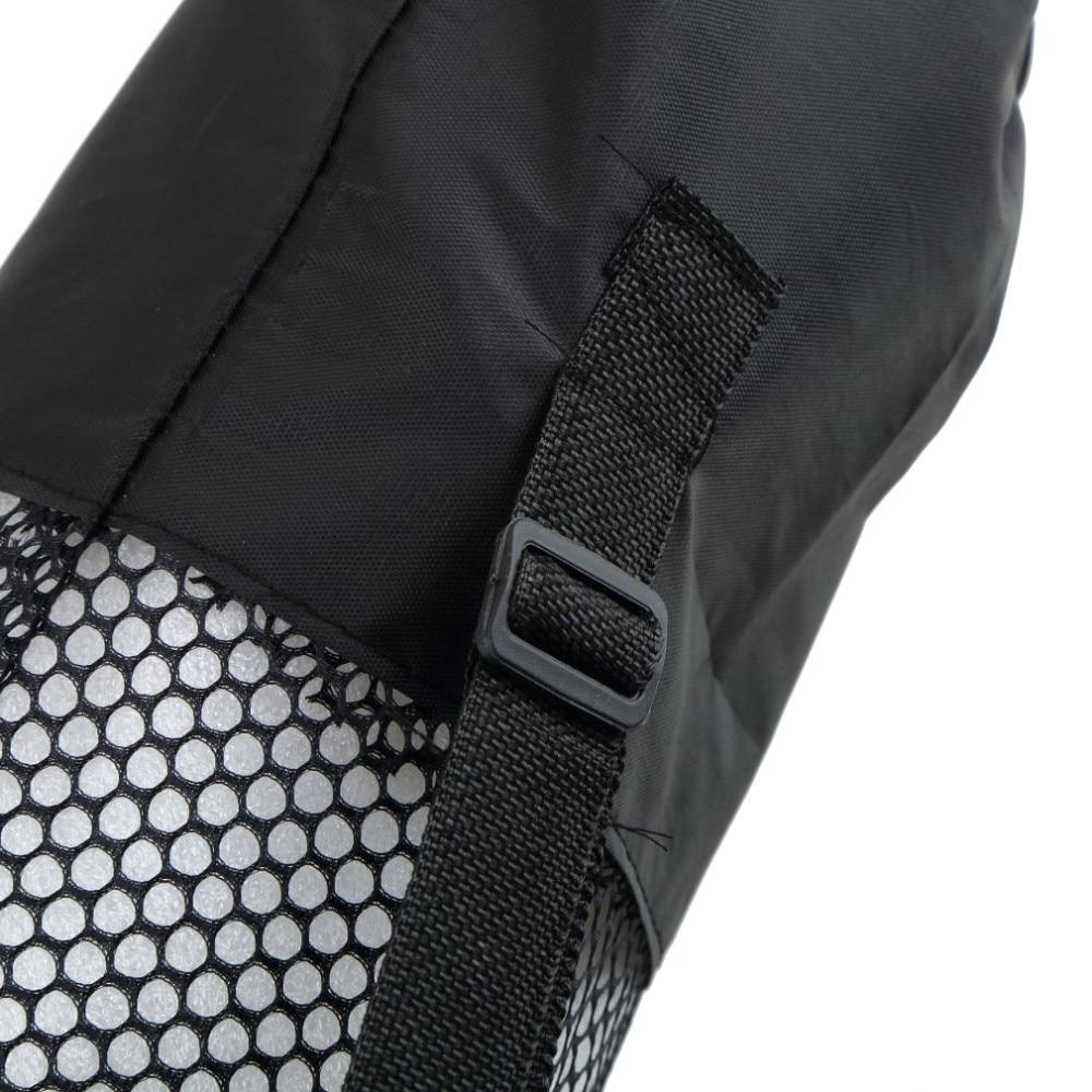2016 torba mochila yoga popularne przenośne yoga mat beautity polyester nylon mesh czarny plecak dla zdrowia sport 7