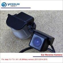 YESSUN Car Rear View Reverse Camera For Jeep YJ / TJ / JK / J8 (Military version) 2013 2014 2015 / Parking Reversing Camera
