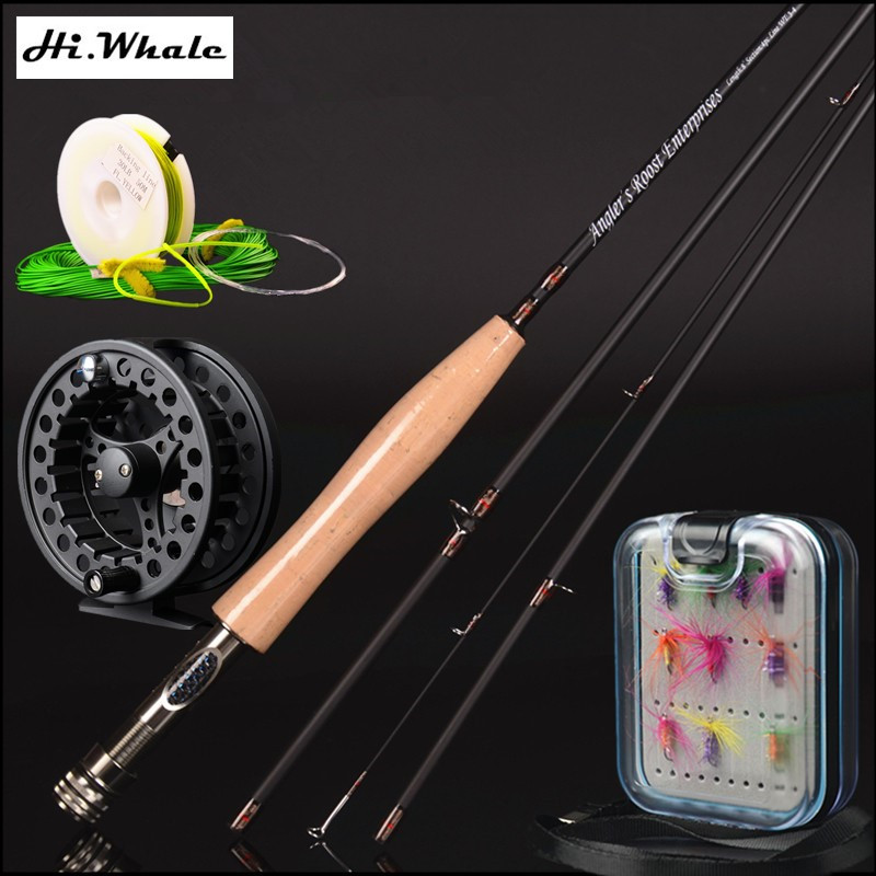 30t carbon fly rod 2.4 m 2.58 meters line wt 3/4#  4/5# 4 section fly fishing rod fishing tackle combo set fly fishing телевизор led 39 bbk 39lem 1027 ts2c черный 1366x768 50 гц vga usb scart