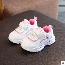 Crianças de Calçados Esportivos Casuais Crianças Meninos Sneakers Primavera Outono Malha Respirável Net Meninas Correndo Sapatos Para Crianças Botas Martin