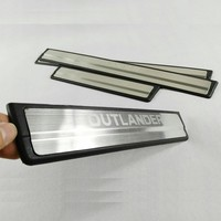 Stainless Steel Original Version Door Sill Scuff Plate Welcome Pedals For MITSUBISHI Outlander 2013 2014 2015