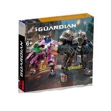 В наличии 2019 Совместимость с Legoing Overwatching 75973 комплекты D идет и рейнхардт строительные блоки кирпичи игрушки популярный галстук подарок