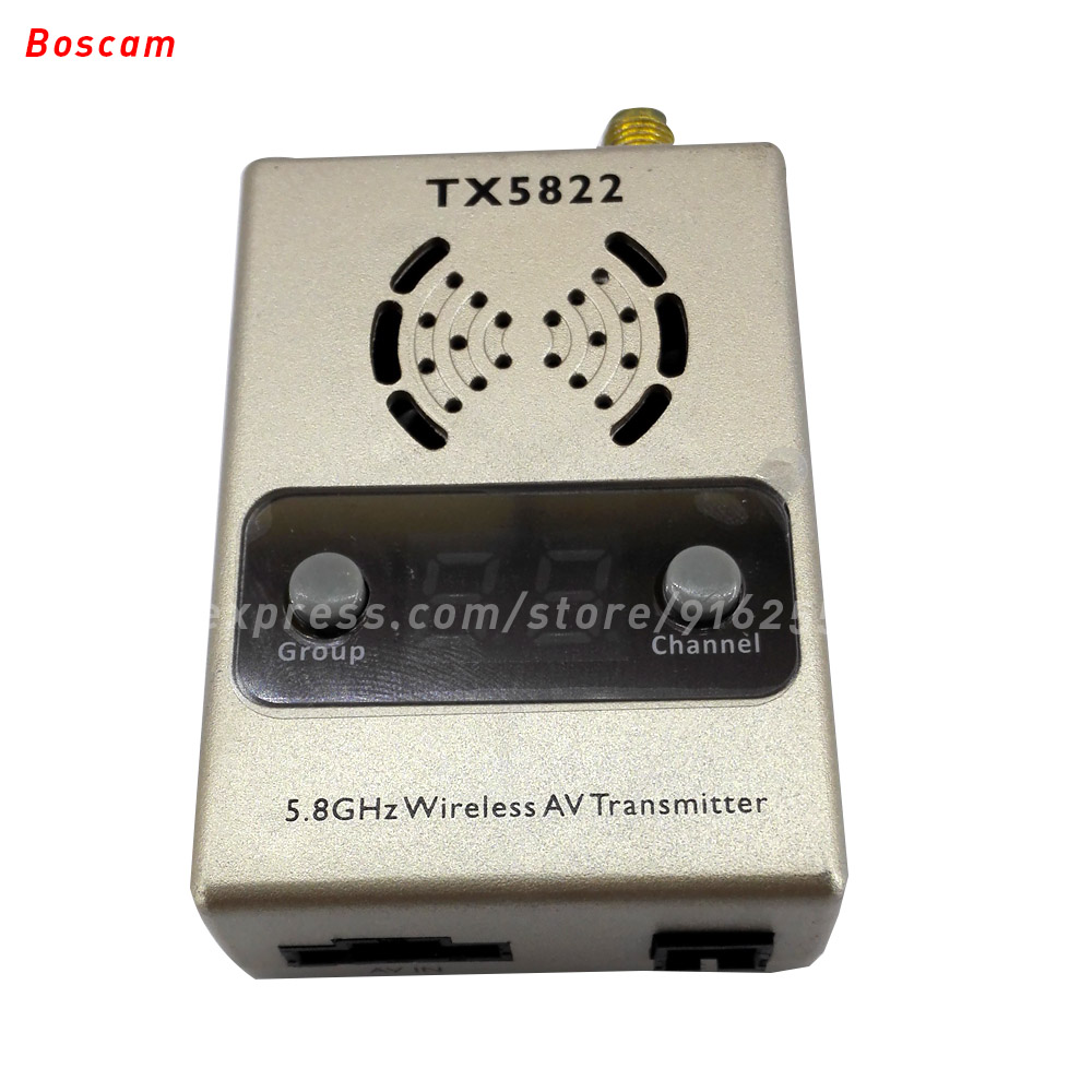 ФОТО BOSCAM rc fpv video transmitter 5.8ghz 2200MW 32CH LED long range wireless av model quadcopter TX for helicopter airplane drone