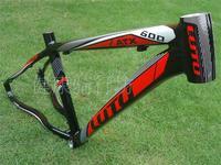 Authentic LUTU Liu Tu ATX600 26 aluminum alloy disc brake mountain bike frame XC bike cross country climbing