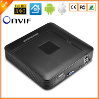 Newest Mini NVR Full HD 4 Channel 8 Channel Security Standalone CCTV NVR 1080P 4CH 8CH