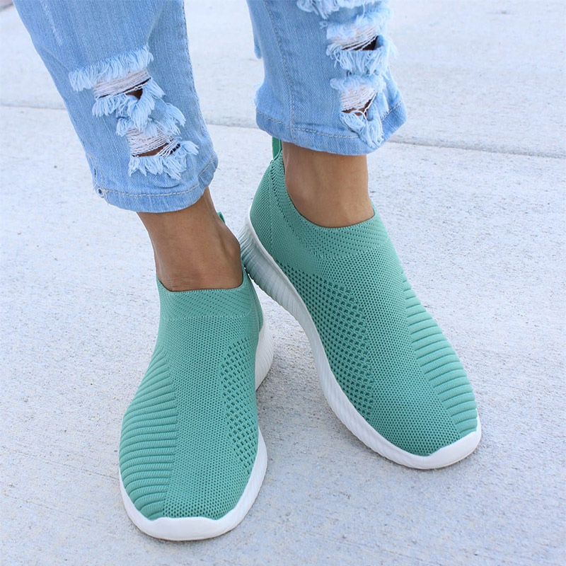 Ladies Espadrilles Slip-On Trainers