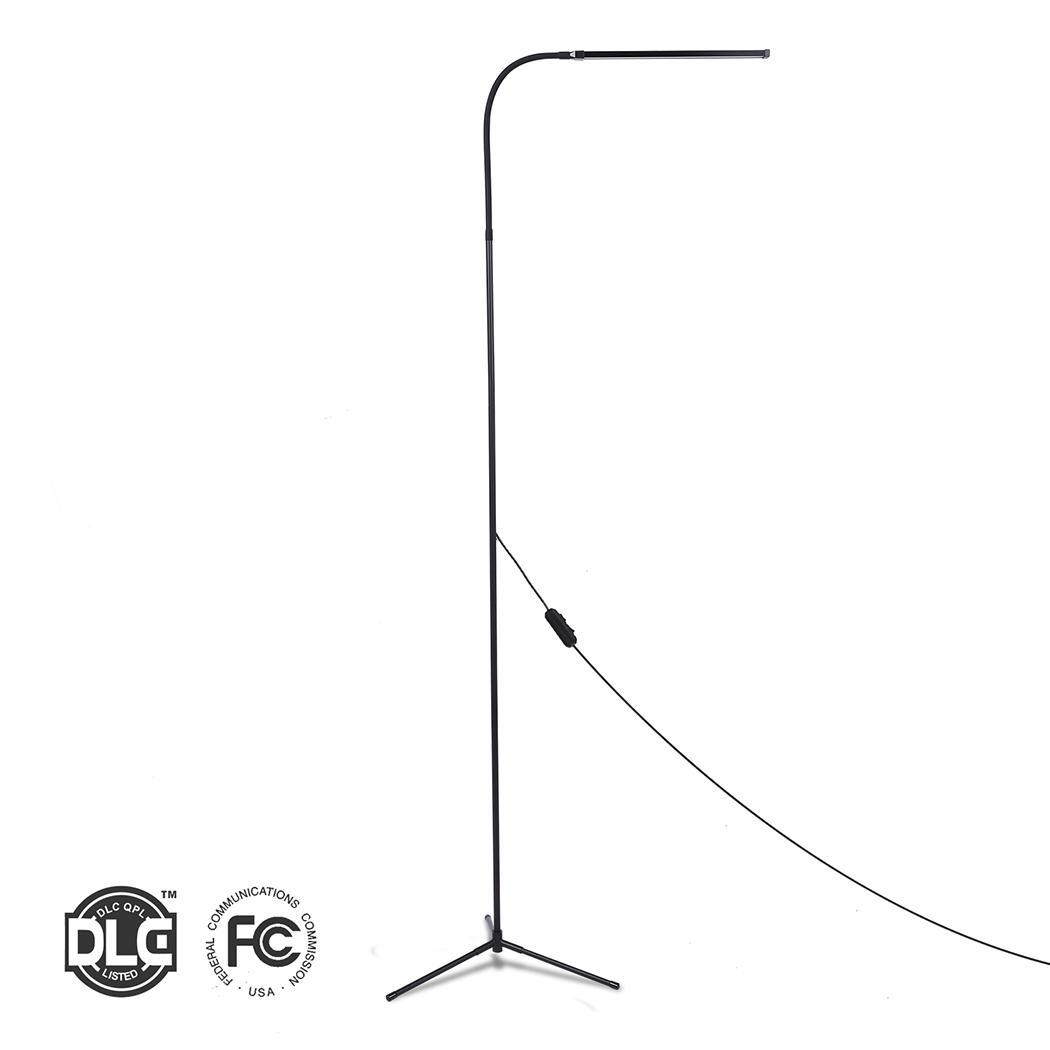 Bedroom Living 8W Cool LINE Light Light for Room with Floor LED Lamp Light Standing Reading USB Length White 1.75M Warm Dimmable f9 modern touch led standing floor lamp reading for living room bedroom with remote control 12 levels dimmable 3000 6000k black
