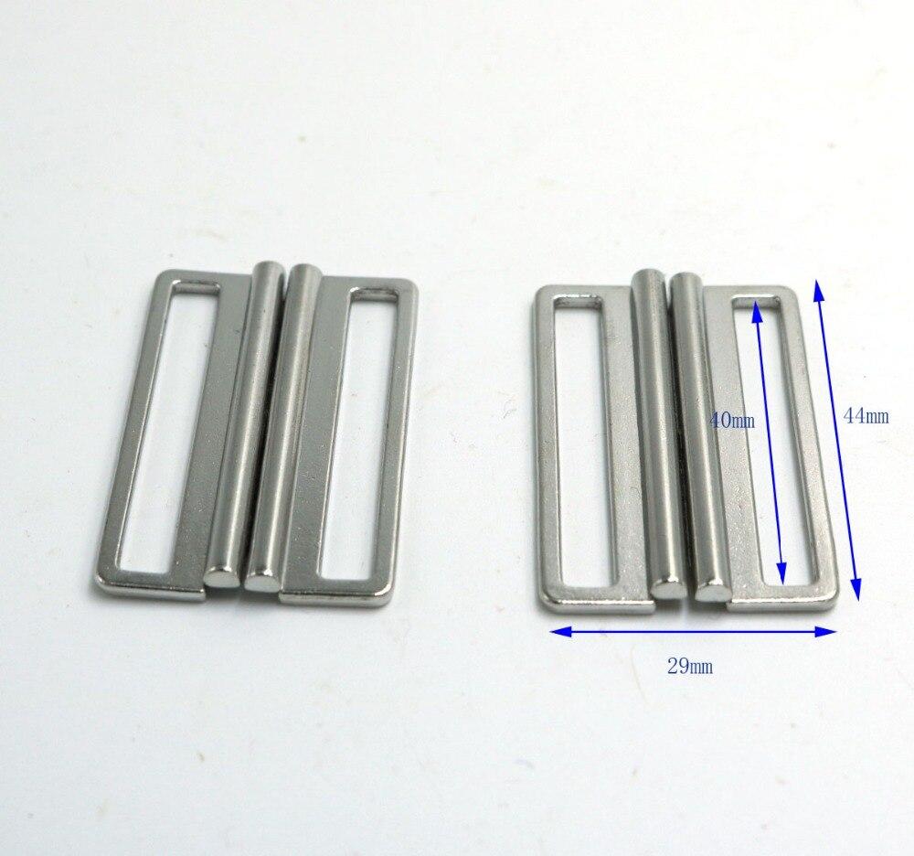 1 Pair Metal Buckle Hook Eye Closures Clasp Fastener for DIY Clothing Decoration