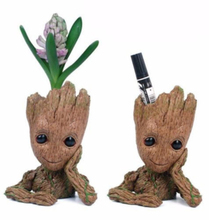 Anime Figure Guardians of The Galaxy 2 Toys Movie Tree Man Action Figure Dolls Funny Creative Flower Pot Pen Holder Gift