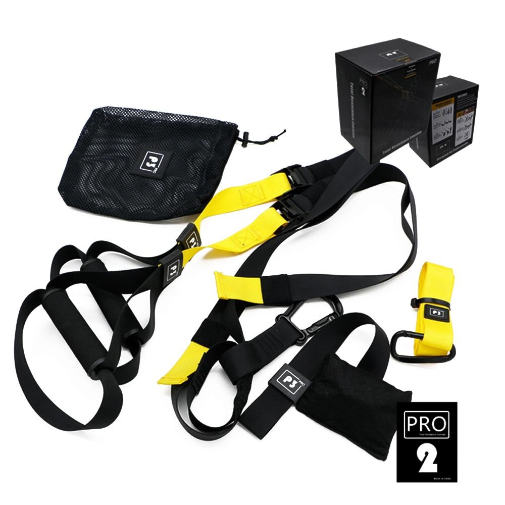 Bandes de résistance Suspension suspendus corps formateur formation Fitness sangles ceinture maison Gym exercice entraînement