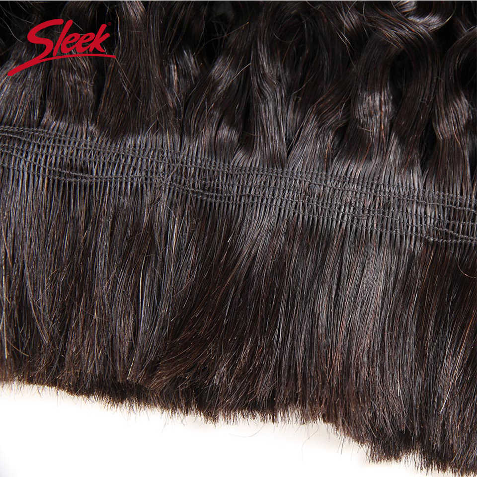 Sleek Remy Human Hair Indian Deep Wave Bundles Hair For Braiding In Natural Color 8 To30 Inch Crochet Braids No Weft Hair Bulk