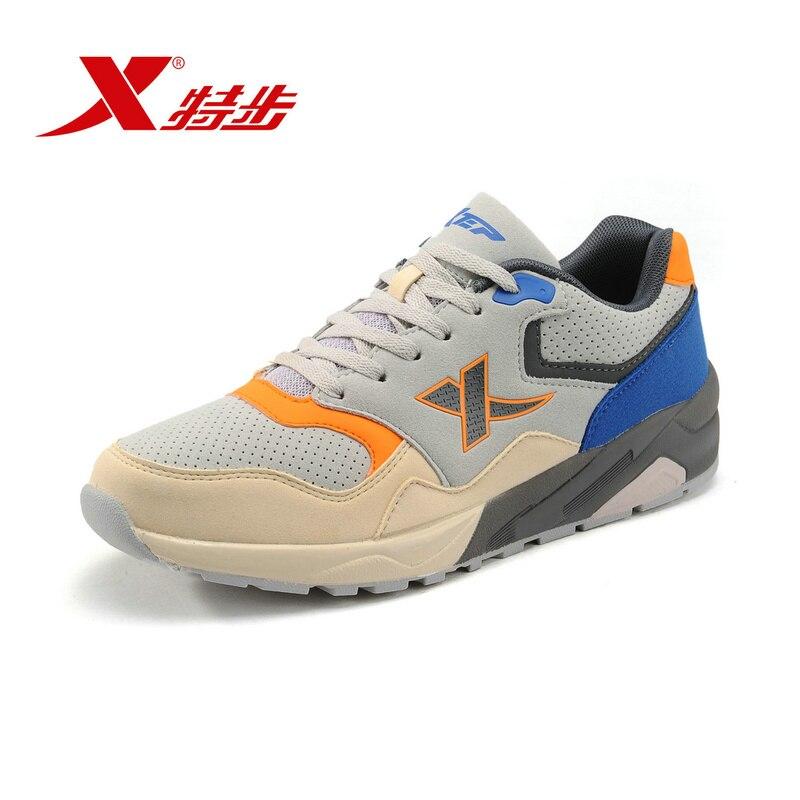 XTEP Original Men's Retro Light Running Shoes Sneakers ...