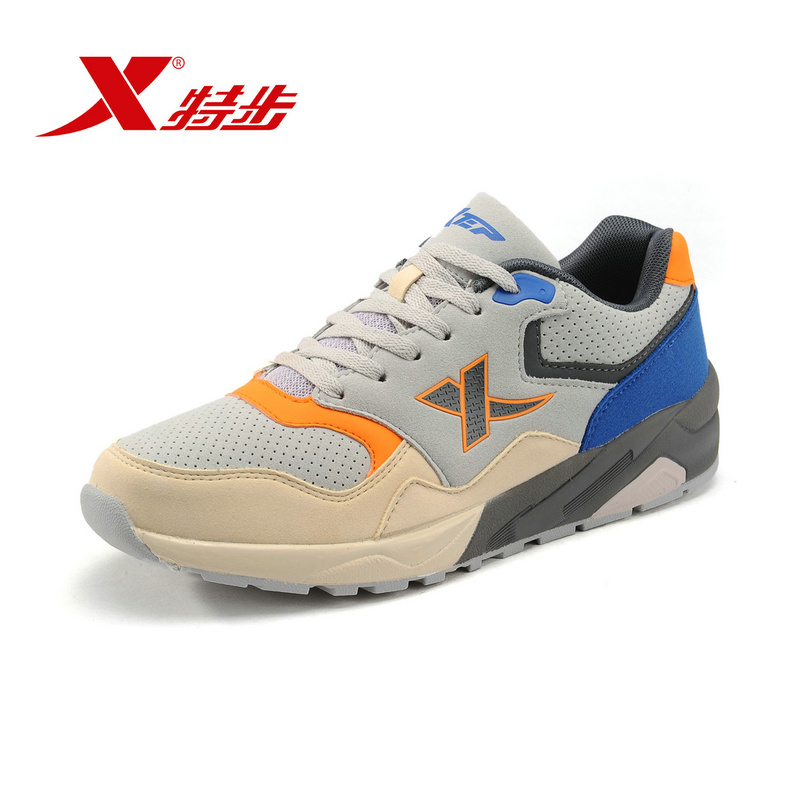 ᓂXtep original hombres Retro Luz Zapatillas para correr sneakers ...