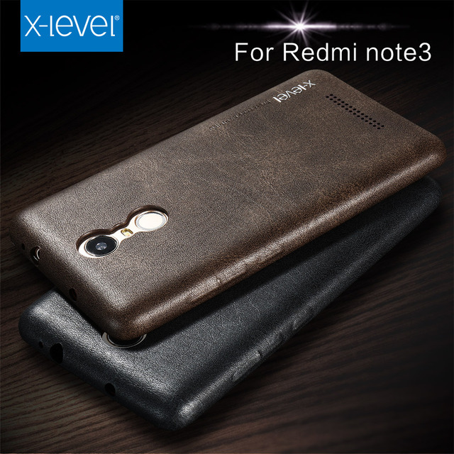 sports shoes 5406b 7e7c0 US $12.65 |X Level Smartphone Case For Xiaomi Redmi note 3 Back Cover  Fashionable Design PU Leather Case-in Phone Pouch from Cellphones & ...