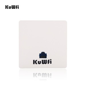 Image 1 - KuWFi 300mbps Wireless Router Indoor in wall Wireless Access Point  Wireless AP Router Support 20users