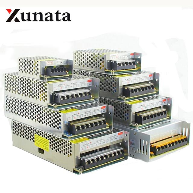 DC 12V 5V 24V Switching power supply LED strip power supply adapter AC 100-240V  24W 36W 120W 200W 240W 360W 400W 500W 600W