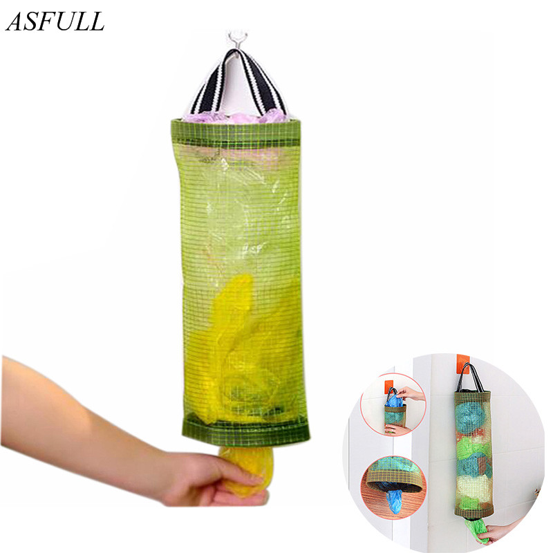ASFULL New Storage Bag Kitchen Bar Closet Organizer Garbage Bags Extractor for Multi Umbrella Holder Tools free shipping