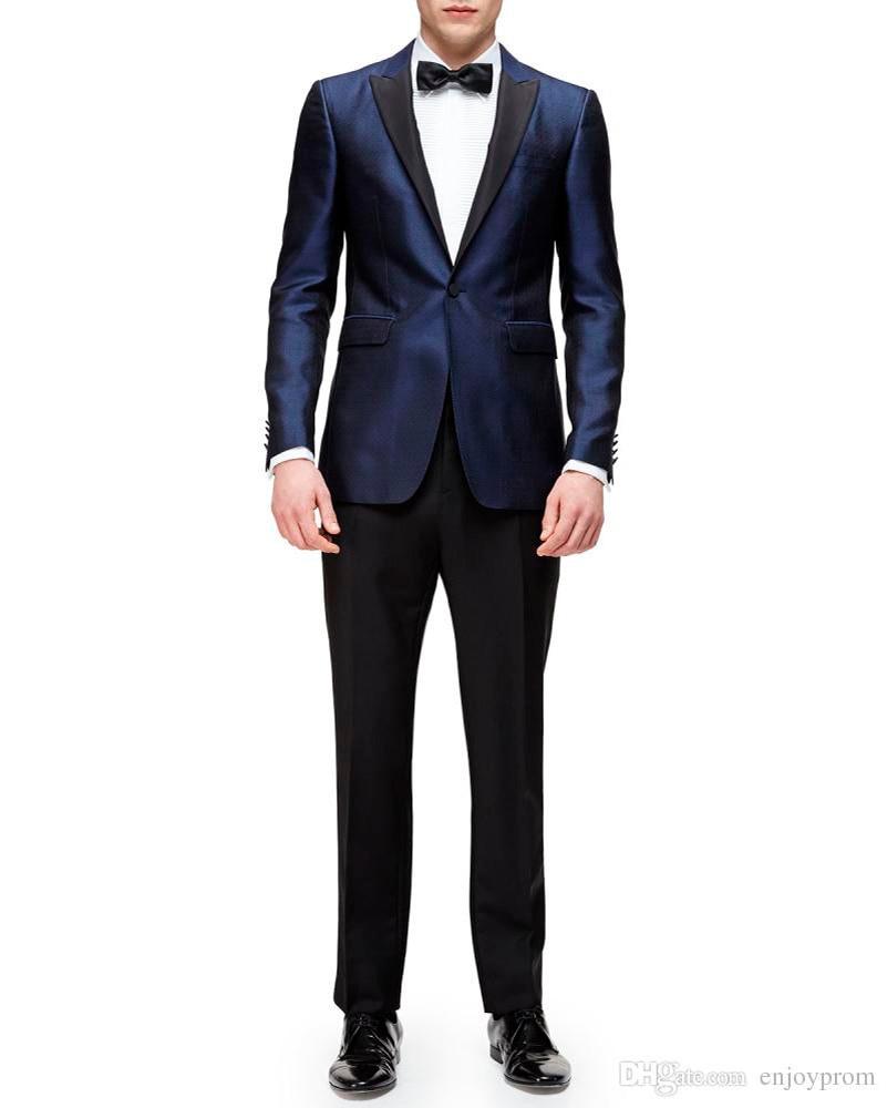 Blue Jacket Black Pants Promotion-Shop for Promotional Blue Jacket ...