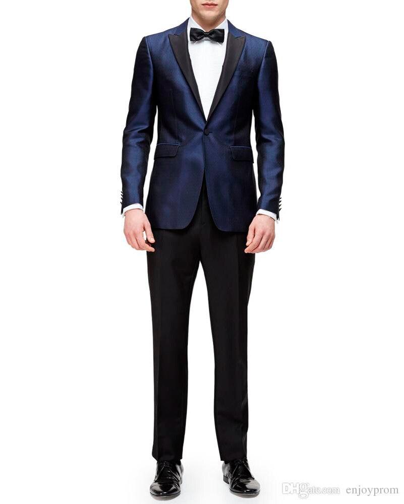 Navy Blue Dress Black Suit Promotion-Shop for Promotional Navy