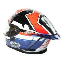 Caso para HJC capacete da motocicleta Traseiro guarnição spoiler RPHA11 / RPHA10 / DISNEYPIXAY/CL-17/É-17/IS-MAX