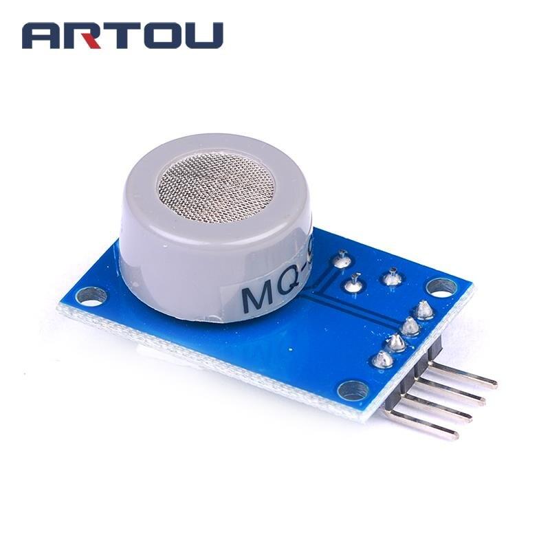 5PCS mq 9 MQ-9 Carbon Monoxide Combustible Gas Sensor Alarm MQ9 Module