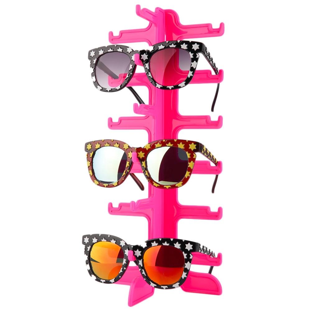 Mode Zonnebril Brillen Plastic Frame Display Stands Plank Brillen - Home opslag en organisatie - Foto 4