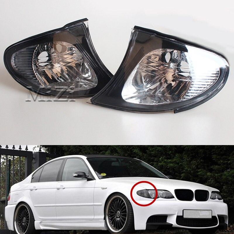 Seitenlichter Ecke Seite Blinker Lampen Klare Linse Für BMW E46 3er 4DR 2002-2005 325i 330i