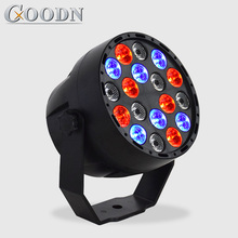LED Par Lights 18x3W DJ RGB Wash Disco Light DMX Controller Effect For Small Paty KTV Stage Lighting