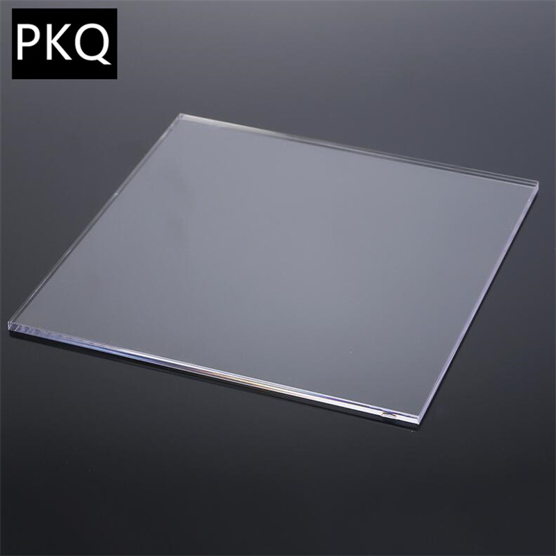 2 10mm Thickness Acrylic Board Clear Transparent Extruded Plexiglass Sheet Organic Polymethyl Methacrylate 20x20cm 20x30cm 2pcs Window Dressing Hardware Aliexpress