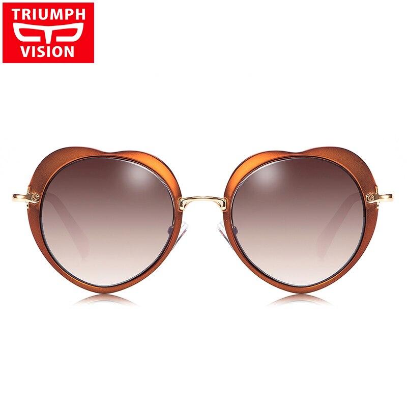 TRIUMPH VISION Heart Ladies Gafas de sol Diseñador de lujo Lunette - Accesorios para la ropa - foto 2