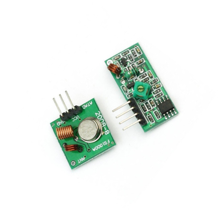 2 PCS 315Mhz RF transmitter and receiver link kit for Arduino/ARM/MCU