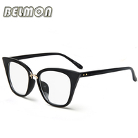 Eyeglasses Frame Women Computer Optical Vintage Eye Glasses For Women S Spectacle Transparent Clear Lens Armacao