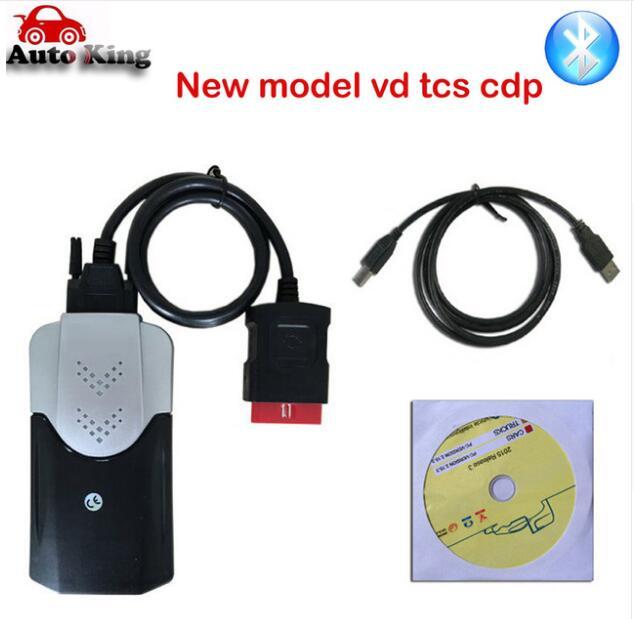 Obd Obd2 сканер для delphis vdijk autocoms pro. R0 VD DS150E CDP BLUETOOTH автомобили Грузовики диагностический инструмент+ 8 шт. автомобильные кабели - Цвет: NewshellBluetooth