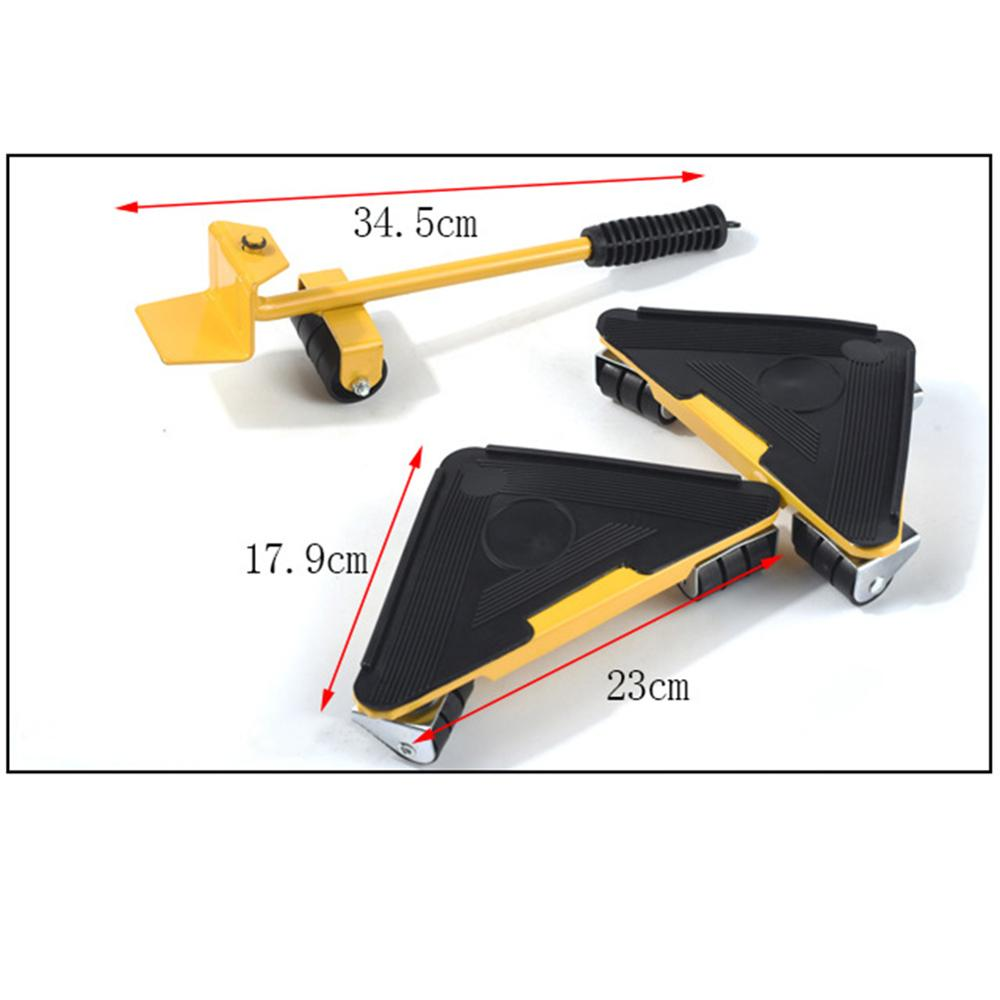 Furniture Transport Roller Set Removal Lifting Moving Tool 4 Corner movers with lifter Heavy Move House Furniture accessories