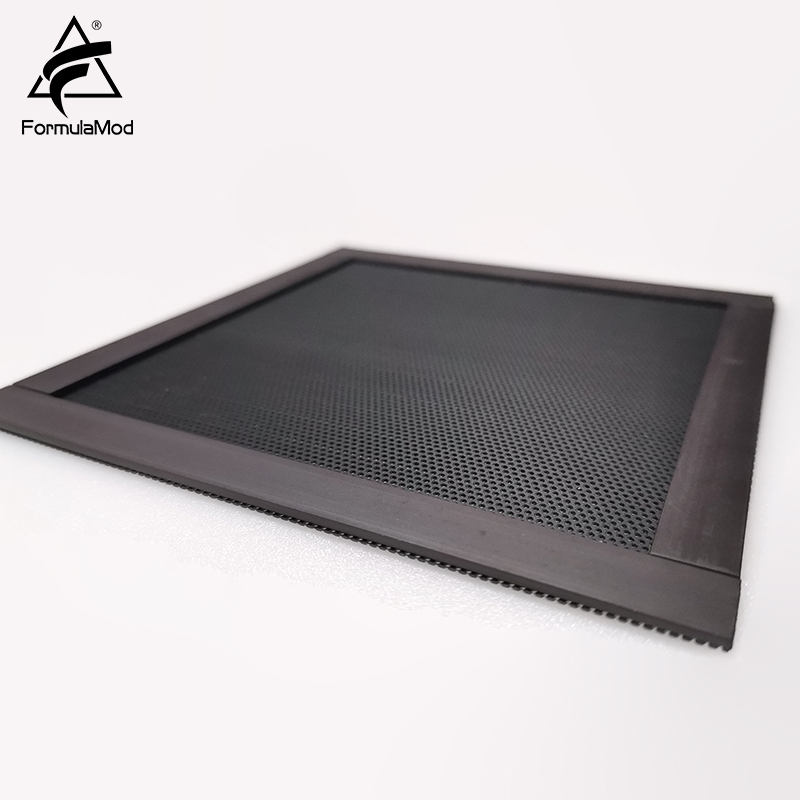 FormulaMod Fm FCW 120mm Air Filter Nets Dust Filters Black Net With Magnet Strips 120x120mm For Case Fans in Fans Cooling from Computer Office