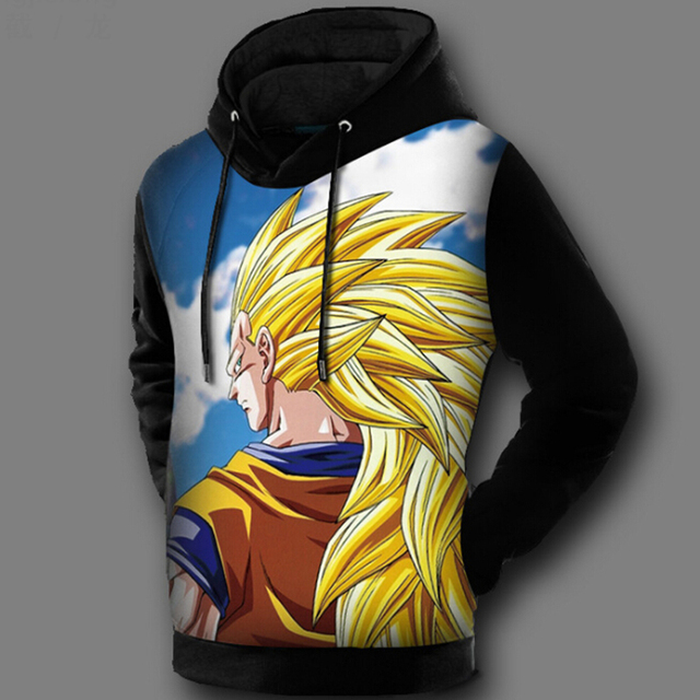 Dragon Ball 3D Hoodie (10 models)